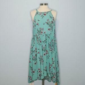 Torrid Floral Halter Dress